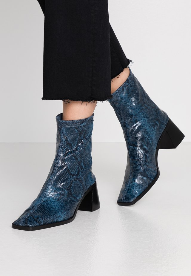 BASIL - Classic ankle boots - navy