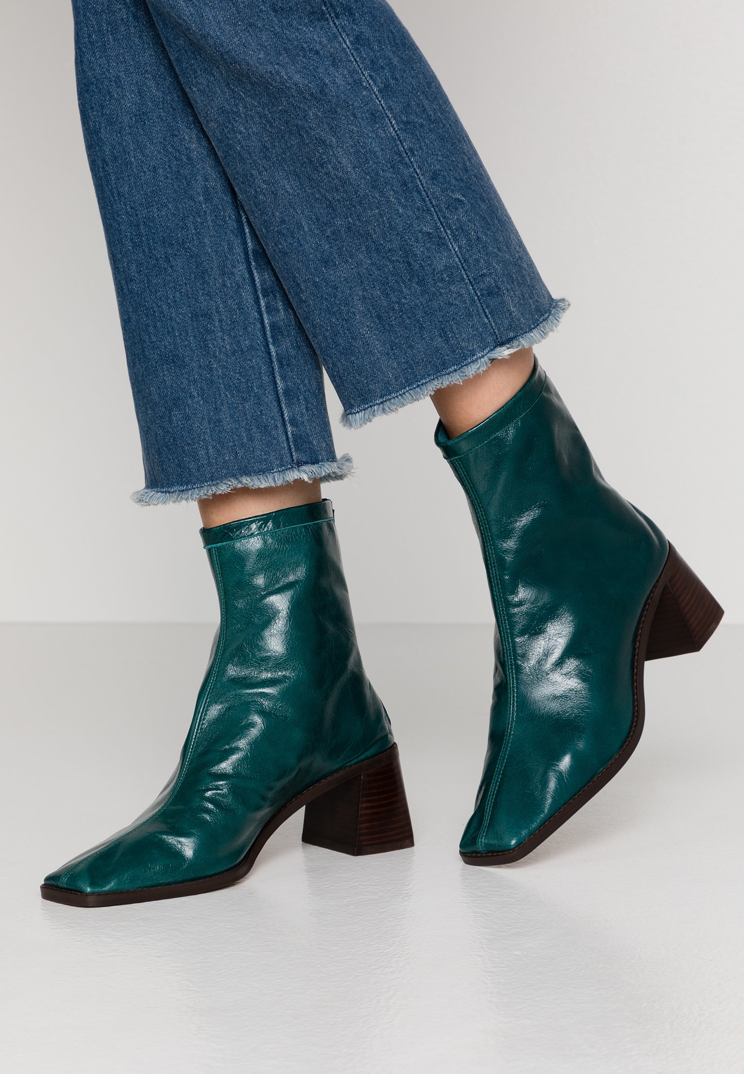 Pavement ESME - Botines camperos - green green