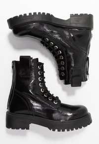 L'INTERVALLE - JARNA - Lace-up ankle boots - black - 3