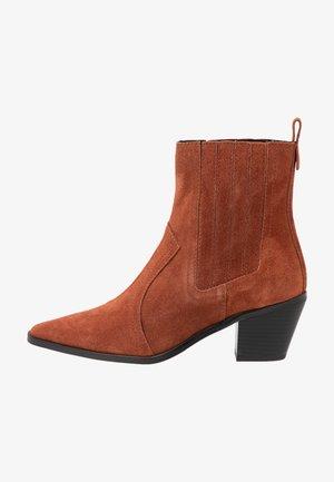 BLANCHE - Cowboystøvletter - brown