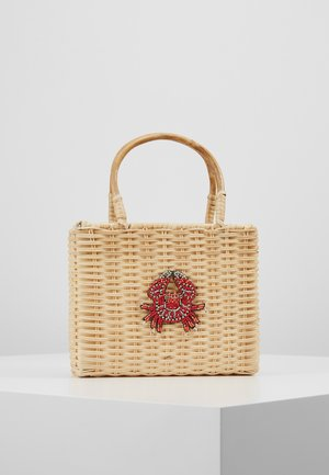 WICKER CRAB - Handbag - beige