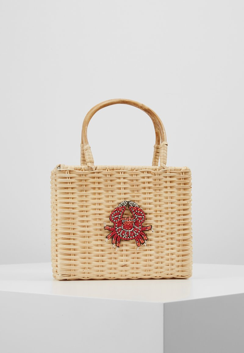 LIARS & LOVERS - WICKER CRAB - Kabelka - beige