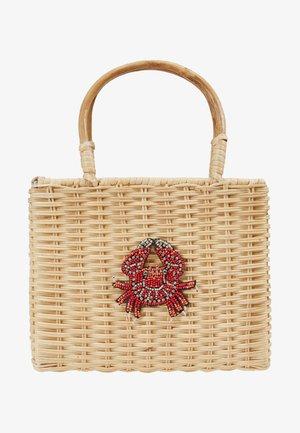 WICKER CRAB - Håndtasker - beige