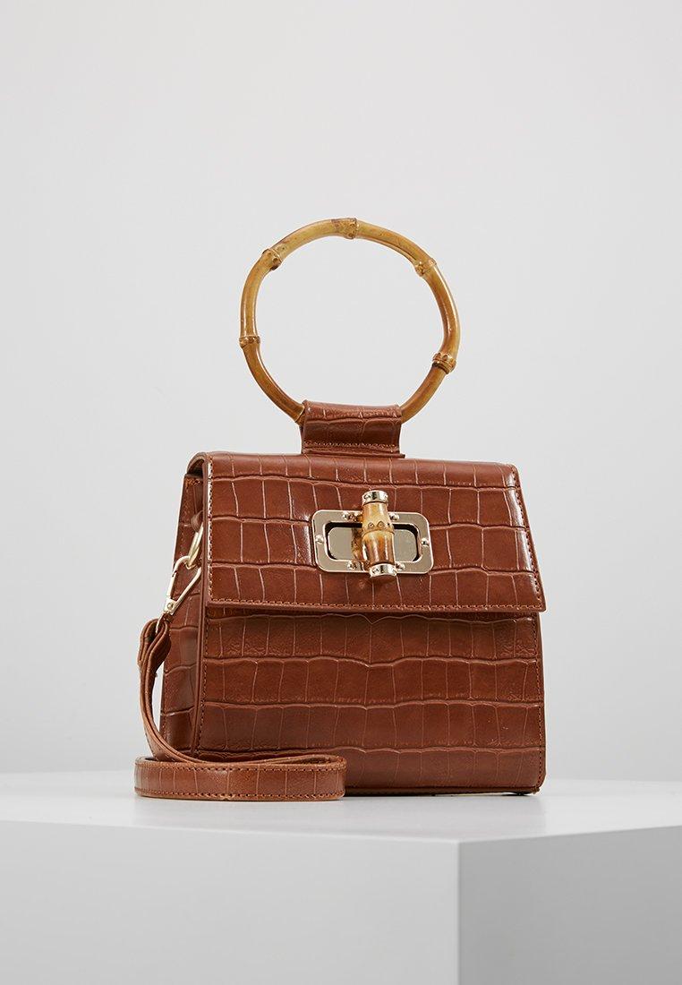 LIARS & LOVERS - CROC MINI BAG - Handbag - brown
