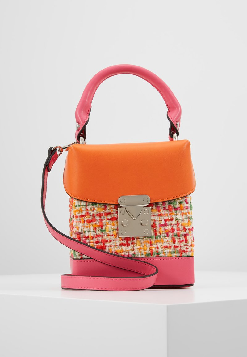 LIARS & LOVERS - CROSS BODY - Käsilaukku - pink/orange