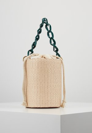BASKET BAG WITH HANDLE - Borsa a mano - cream
