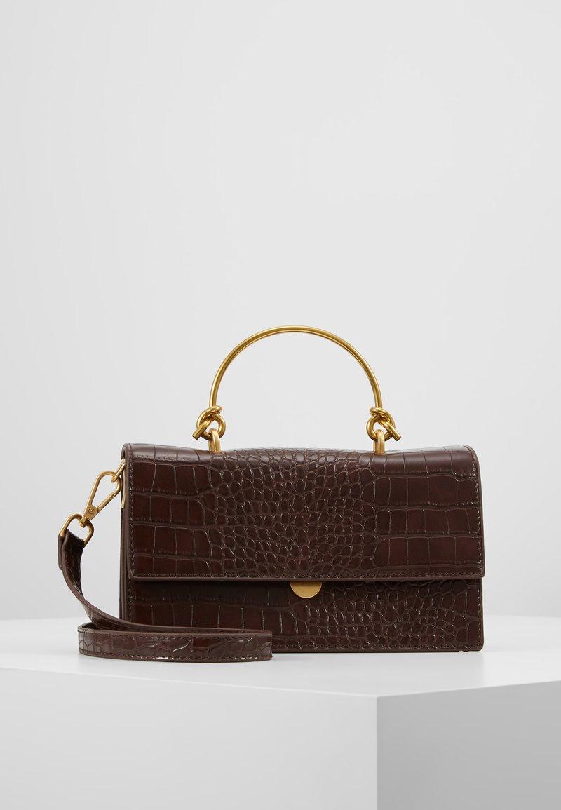 LIARS & LOVERS - BOXY CROSS BODY BAG - Handtasche - black