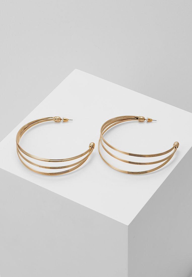 LIARS & LOVERS - OPEN WIRED HOOPS - Ohrringe - gold-coloured