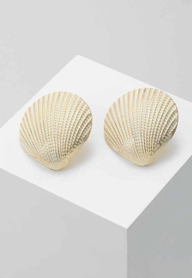 LIARS & LOVERS - ENAMEL SHELL STUDS - Boucles d'oreilles - gold-coloured