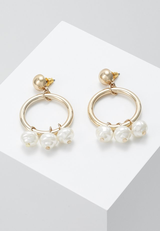 TRIO HOOP - Earrings - gold-coloured