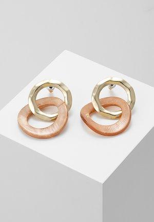 INTERLINKED HOOP - Earrings - multi-coloured