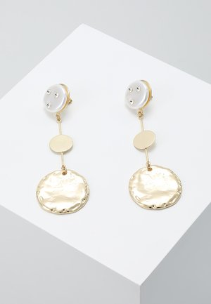 DISC STATEMENT EARRING - Orecchini - gold-coloured