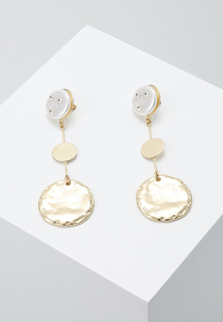 LIARS & LOVERS - DISC STATEMENT EARRING - Boucles d'oreilles - gold-coloured