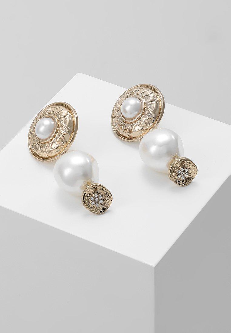 LIARS & LOVERS - VINTAGE DROP EAR - Earrings - gold-coloured