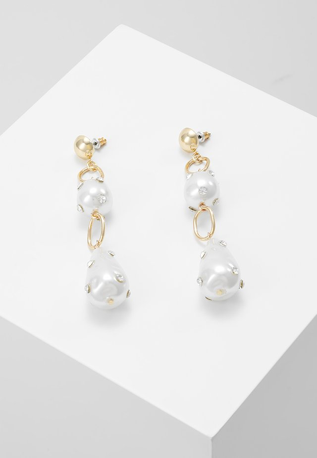 DROPS - Earrings - white