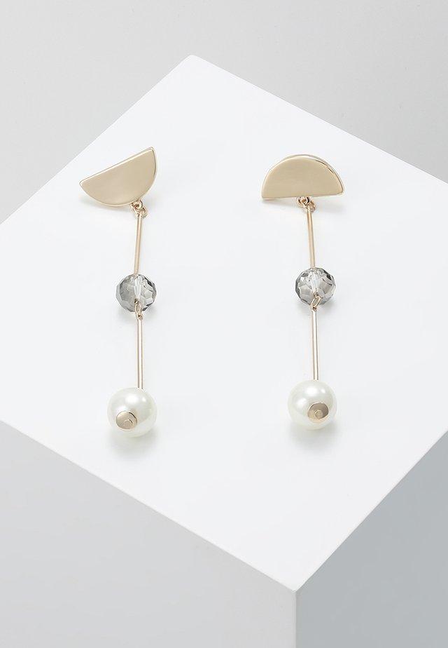 FACET ASYMETRIC EARRING - Earrings - gold-coloured