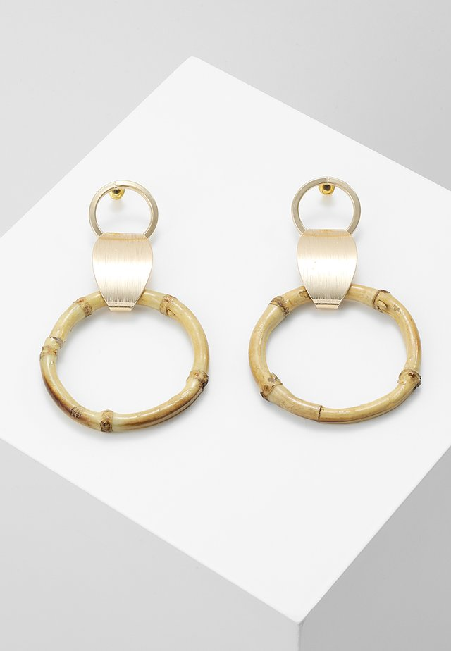 DROP HOOP - Earrings - gold-coloured