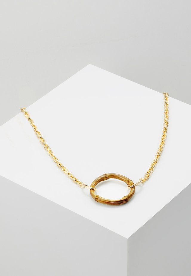 LONG PENDANT - Necklace - gold-coloured