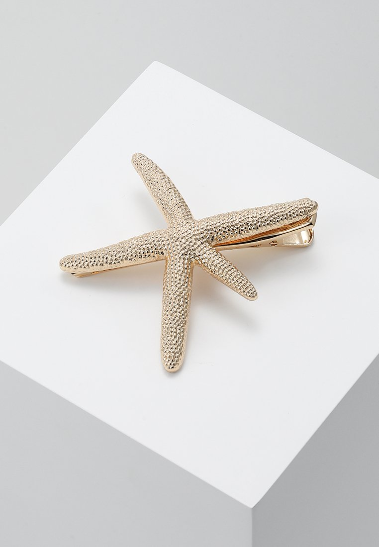 LIARS & LOVERS - OVERSIZED STARFISH HAIR CLIP - Accessoires cheveux - gold-coloured