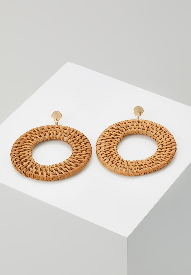 LIARS & LOVERS - HOOP EARRING - Boucles d'oreilles - brown/gold-coloured