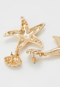 LIARS & LOVERS - ENCRUSTED STARFISH DROP - Boucles d'oreilles - gold-coloured - 2