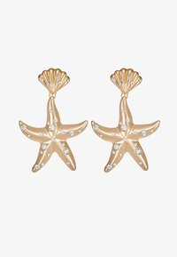 LIARS & LOVERS - ENCRUSTED STARFISH DROP - Boucles d'oreilles - gold-coloured - 3