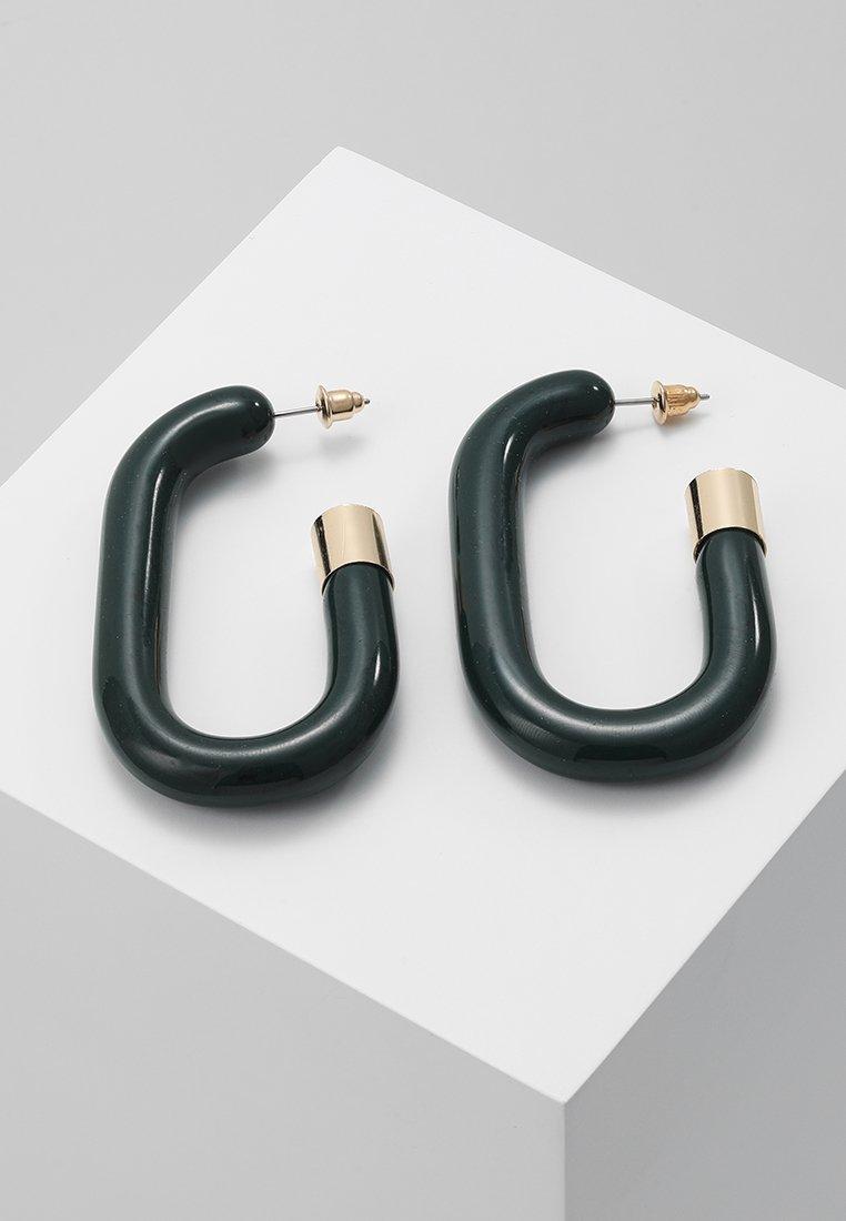 LIARS & LOVERS - CHUNKY ENAMEL HOOP - Boucles d'oreilles - gold-coloured