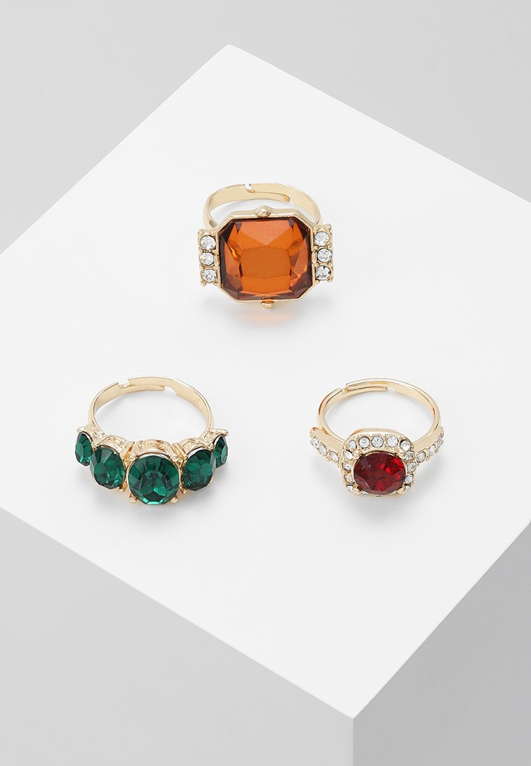 LIARS & LOVERS - SQUARE COCKTAIL 3 PACK - Ring - multicolor
