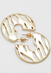 LIARS & LOVERS - CUT OUT HOOP - Earrings - gold-coloured - 2