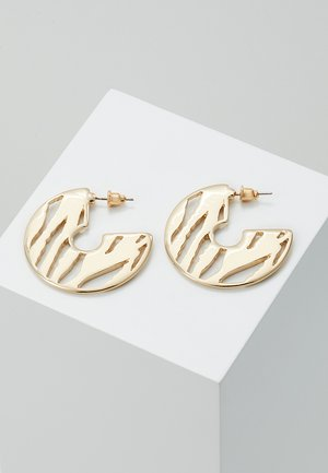 CUT OUT HOOP - Ohrringe - gold-coloured