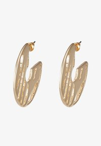 LIARS & LOVERS - CUT OUT HOOP - Earrings - gold-coloured - 3