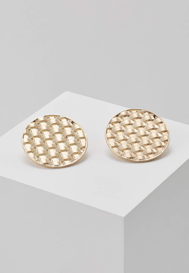 LIARS & LOVERS - WEAVE STUD - Earrings - gold-coloured