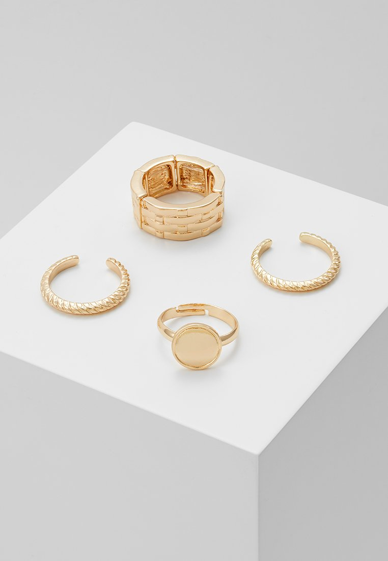 LIARS & LOVERS - WEAVE SIGNET 4 PACK - Anillo - gold-coloured