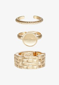 LIARS & LOVERS - WEAVE SIGNET 4 PACK - Anillo - gold-coloured - 3