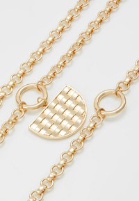 LIARS & LOVERS - WEAVE PENDANT - Necklace - gold-coloured - 4