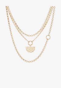 LIARS & LOVERS - WEAVE PENDANT - Necklace - gold-coloured - 3