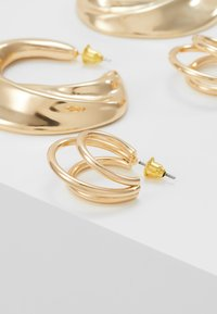 LIARS & LOVERS - DOUBLE HOOP 2 PACK - Boucles d'oreilles - gold-coloured - 4