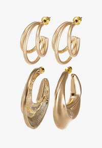 LIARS & LOVERS - DOUBLE HOOP 2 PACK - Boucles d'oreilles - gold-coloured - 3
