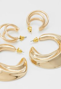 LIARS & LOVERS - DOUBLE HOOP 2 PACK - Boucles d'oreilles - gold-coloured - 2