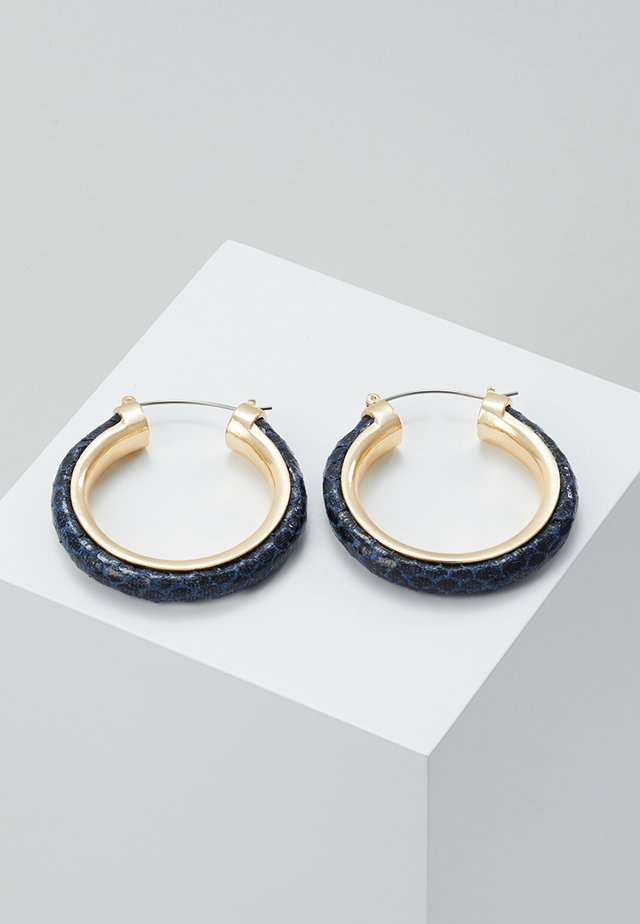 SNAKE HOOP - Earrings - multi