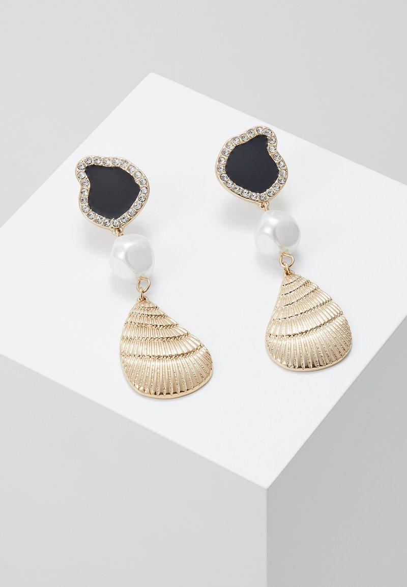 LIARS & LOVERS - SHELL - Boucles d'oreilles - black