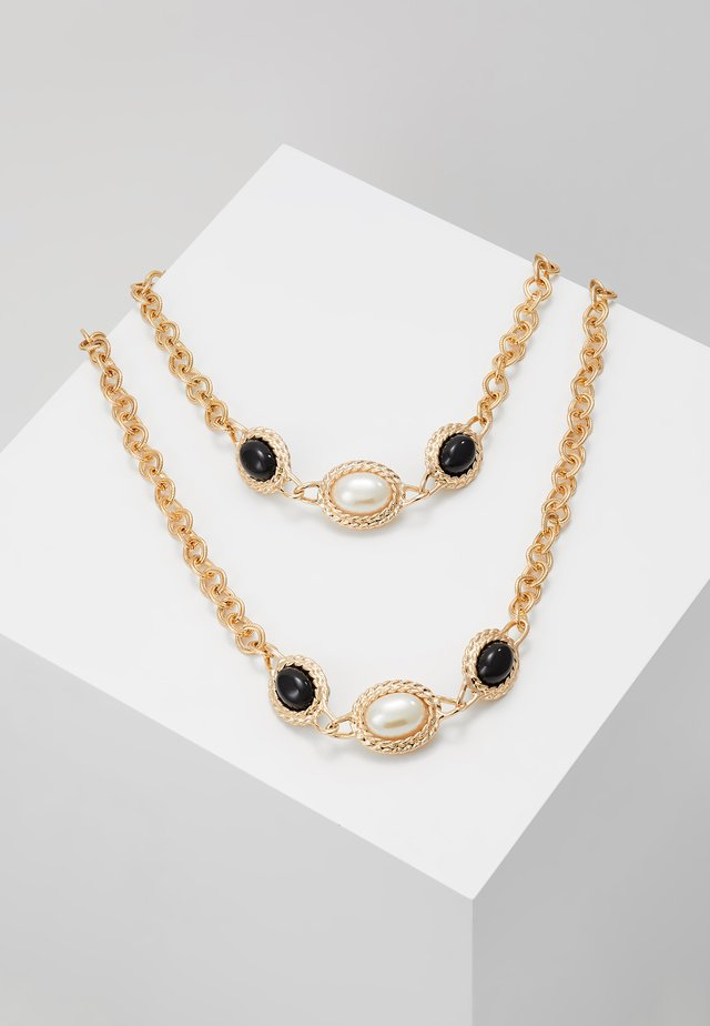VINTAGE - Necklace - black