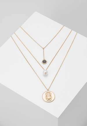 SCARAB COIN MULTI  PACK - Necklace - black