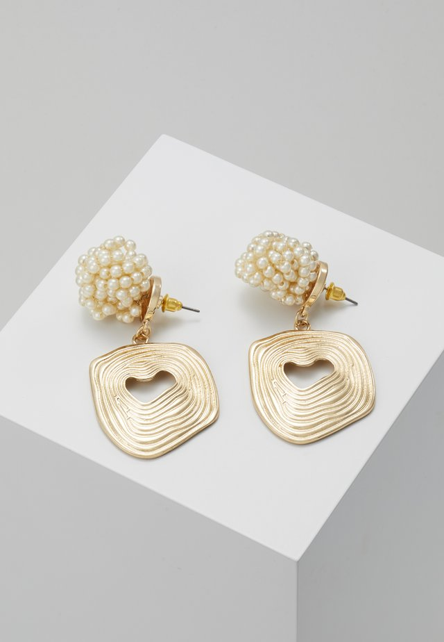 CLUSTER - Earrings - gold-coloured