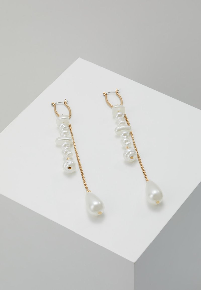 LIARS & LOVERS - SLEEK DROP - Earrings - gold-coloured