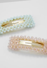 LIARS & LOVERS - FACETED BEAD CLIP - Hair styling accessory - pastel multi - 4