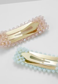 LIARS & LOVERS - FACETED BEAD CLIP - Hair styling accessory - pastel multi - 2