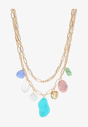 MIXED BEAD MULTI - Ketting - gold-coloured