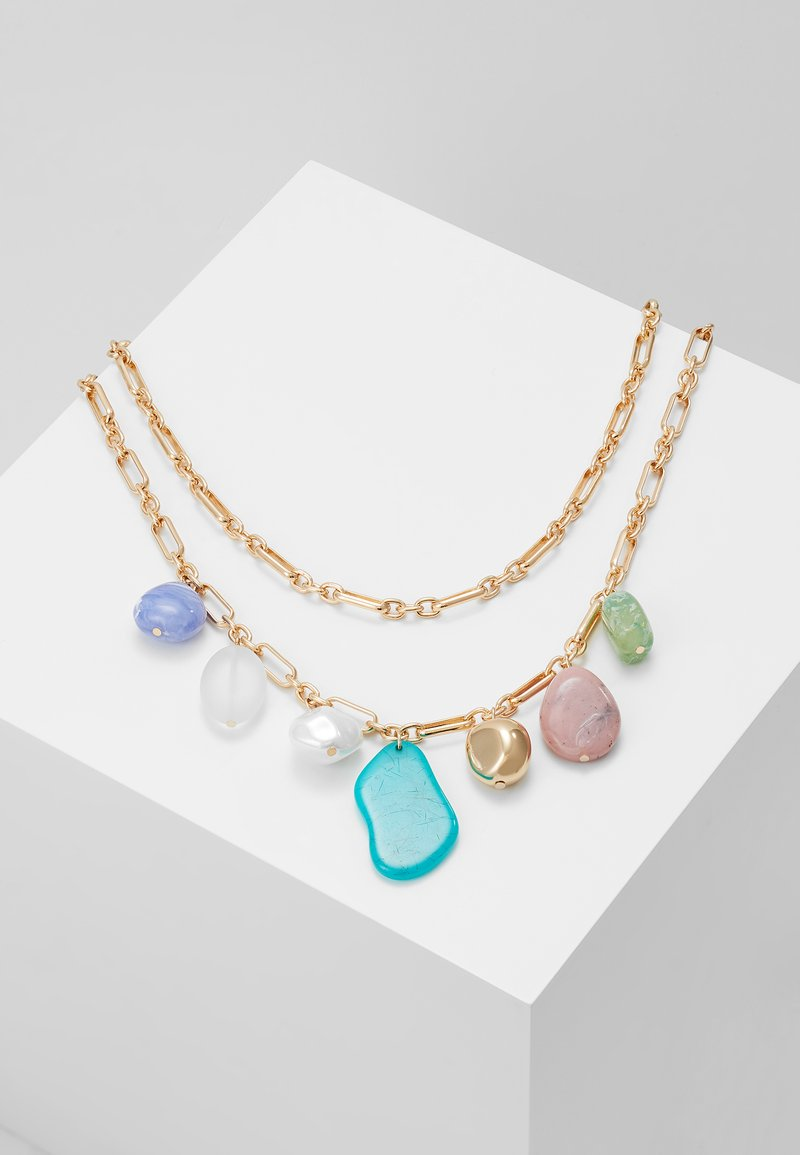 LIARS & LOVERS - MIXED BEAD MULTI - Necklace - gold-coloured
