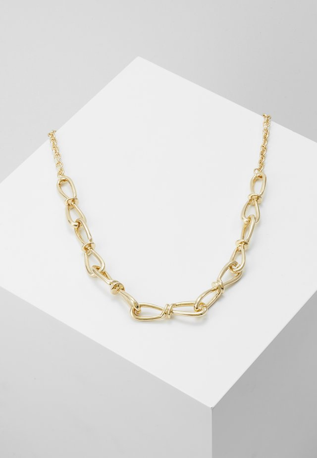 CHUNKY CHAIN - Halsband - gold-coloured